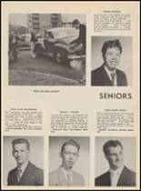 1955 Bloomfield High School Yearbook Page 108 & 109