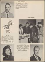 1955 Bloomfield High School Yearbook Page 110 & 111