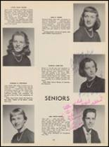 1955 Bloomfield High School Yearbook Page 112 & 113
