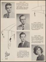 1955 Bloomfield High School Yearbook Page 120 & 121