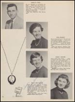 1955 Bloomfield High School Yearbook Page 126 & 127