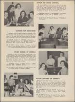 1955 Bloomfield High School Yearbook Page 154 & 155