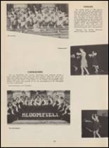 1955 Bloomfield High School Yearbook Page 158 & 159
