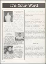 2002 Anahuac High School Yearbook Page 42 & 43