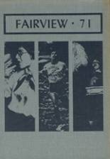 1971 Yearbook Fairview High School
