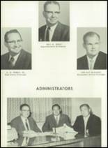 1958 Baird High School Yearbook Page 12 & 13