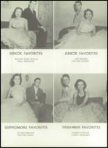 1958 Baird High School Yearbook Page 54 & 55