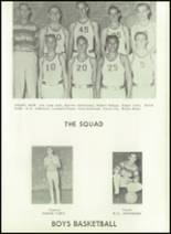 1958 Baird High School Yearbook Page 74 & 75