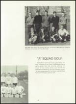 1963 Northfield High School Yearbook Page 104 & 105