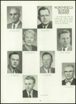 1963 Northfield High School Yearbook Page 126 & 127