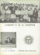 1957 Deer Creek-Lamont High School Yearbook Page 74 & 75