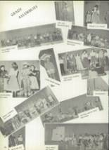 1957 Deer Creek-Lamont High School Yearbook Page 100 & 101