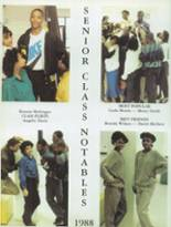 1988 Corliss High School Yearbook Page 18 & 19