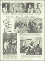1957 Lockport High School Yearbook Page 16 & 17
