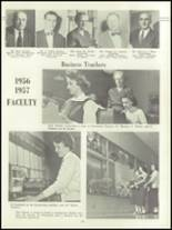 1957 Lockport High School Yearbook Page 20 & 21