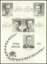 1957 Lockport High School Yearbook Page 24 & 25