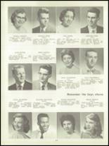 1957 Lockport High School Yearbook Page 28 & 29