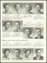 1957 Lockport High School Yearbook Page 38 & 39
