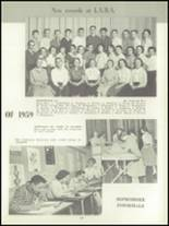 1957 Lockport High School Yearbook Page 56 & 57