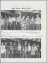 1983 Springer High School Yearbook Page 20 & 21
