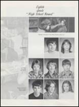 1983 Springer High School Yearbook Page 24 & 25