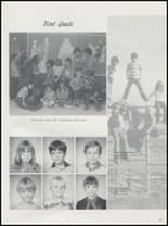 1983 Springer High School Yearbook Page 34 & 35