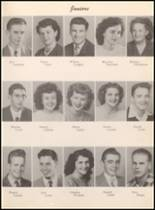 1950 White Pine County High School Yearbook Page 42 & 43