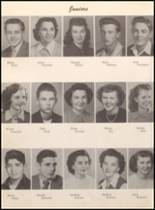 1950 White Pine County High School Yearbook Page 48 & 49