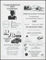 1995 Laingsburg High School Yearbook Page 146 & 147