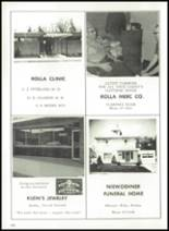 1970 Rolla Junior Senior High School Yearbook Page 104 & 105