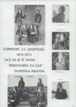 1973 Shelton High School Yearbook Page 134 & 135
