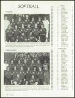1986 Bolingbrook High School Yearbook Page 126 & 127