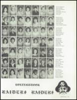 1986 Bolingbrook High School Yearbook Page 130 & 131