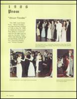 1986 Bolingbrook High School Yearbook Page 176 & 177