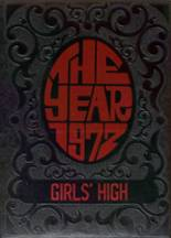 1972 Yearbook Girls High School