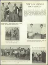 1957 San Angelo Central High School Yearbook Page 10 & 11