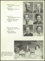 1957 San Angelo Central High School Yearbook Page 22 & 23