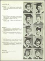 1957 San Angelo Central High School Yearbook Page 32 & 33