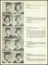 1957 San Angelo Central High School Yearbook Page 38 & 39