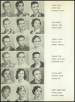 1957 San Angelo Central High School Yearbook Page 74 & 75