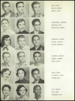 1957 San Angelo Central High School Yearbook Page 76 & 77