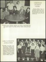 1957 San Angelo Central High School Yearbook Page 126 & 127