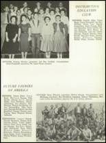 1957 San Angelo Central High School Yearbook Page 128 & 129