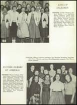 1957 San Angelo Central High School Yearbook Page 130 & 131