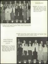 1957 San Angelo Central High School Yearbook Page 134 & 135