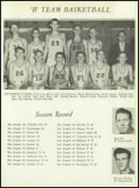 1957 San Angelo Central High School Yearbook Page 156 & 157