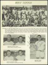 1957 San Angelo Central High School Yearbook Page 166 & 167