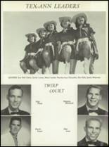 1957 San Angelo Central High School Yearbook Page 188 & 189