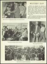 1957 San Angelo Central High School Yearbook Page 206 & 207
