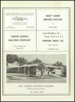 1957 San Angelo Central High School Yearbook Page 244 & 245
